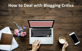 How to Deal with Blogging Critics