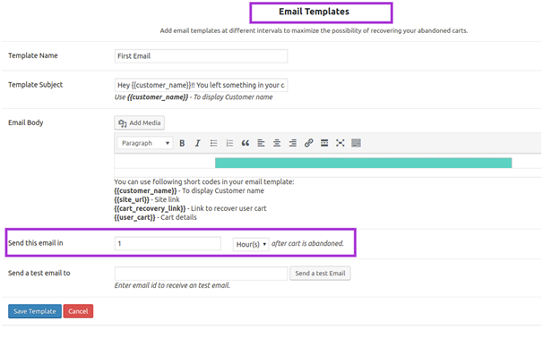 edit email templates