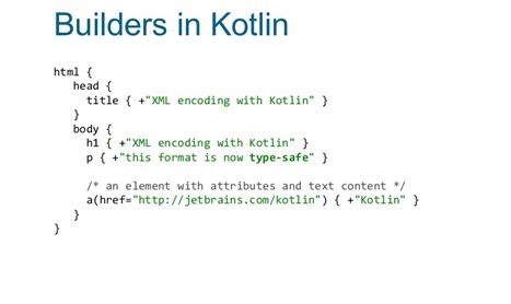 Builders in Kotlin