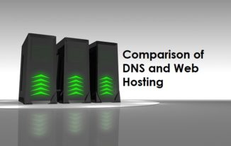 Comparison of DNS and Web Hosting