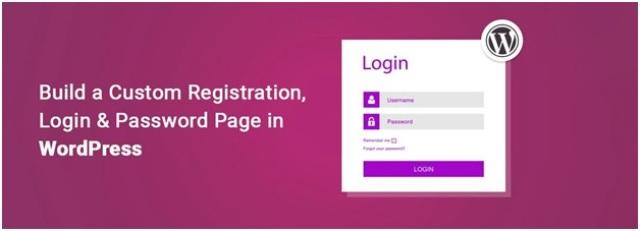 Build a Custom Registration, Login & Password Page in WordPress