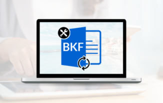 How to restore BKF files in Windows 10