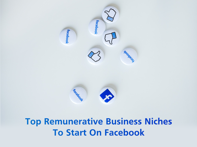 Top 10 Remunerative Business Niches To Start On Facebook